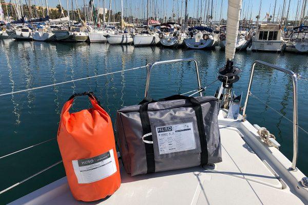 GRAB BAG, upgrade pack for liferaft, equipment for liferaft