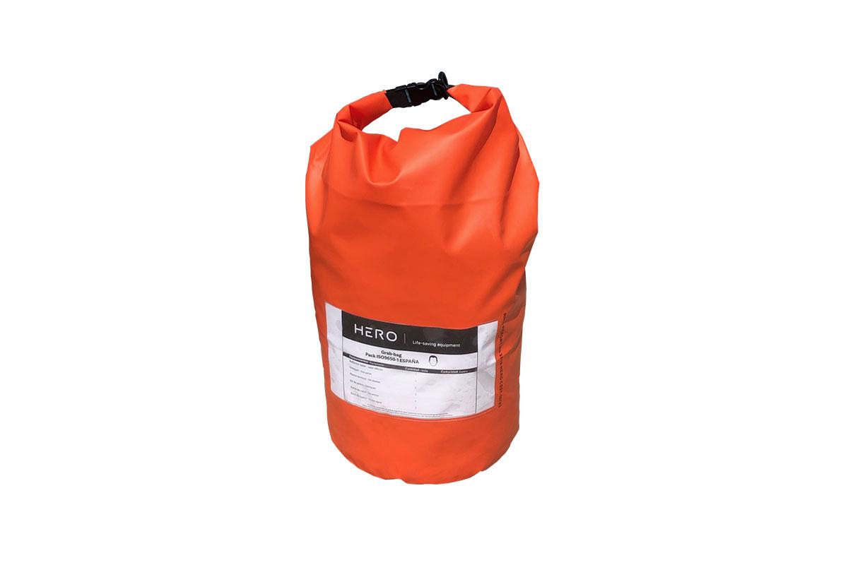 GRAB BAG for liferaft, ISO9650 pack
