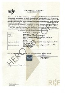 ISO9650-2-certificate