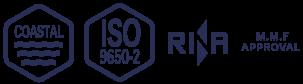 COASTAL LIFERAFT, ISO9650-2 LIFERAFT, RINA, M.M.F APPROVAL